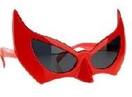 Gafas devil rojas