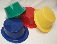Sombrero chistera plástico