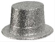 Sombrero chistera escarcha