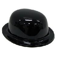 Sombrero bombin plástico