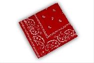 imagen Pañuelo vaquero rojo