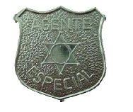 Chapa policía pequeña