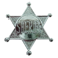 Chapa sheriff pequeña