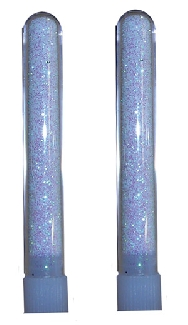 Tubo escarcha especial  cristalino