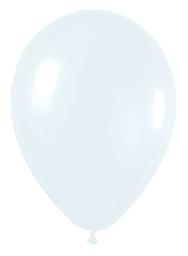Globo solido blanco