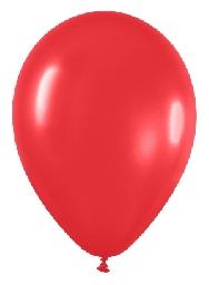 Globo solido rojo