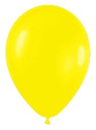 Globo solido amarillo