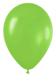 Globo solido verde lima