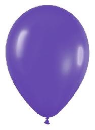 Globo solido violeta
