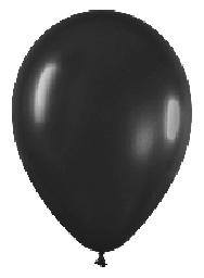 imagen Globo solido negro