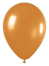 imagen Globo dorado metal