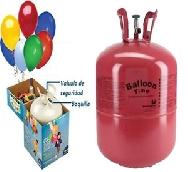 Botella de helio