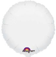 Globo  circulo blanco