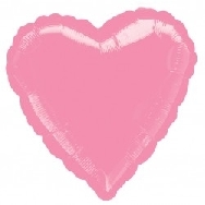 Globo corazón rosa chicle