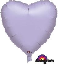 Globo corazón lila