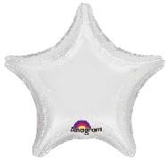Globo estrella blanco