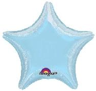 imagen Globo estrella azul pastel