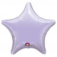 Globo  estrella lila