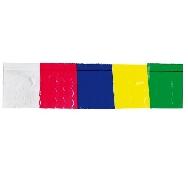 Fleco plastico multicolor (25 mts)