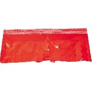 Fleco plastico rojo (25 mts.)