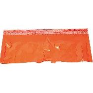 Fleco plastico naranja (25 mts)
