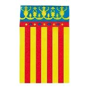 Bandera plástico Comunidad Valenciana (50 mts.)