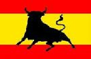 Bandera España toro (150x100 cm.)
