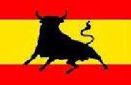 Bandera España toro (90x60 cm)
