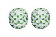 Farolillo lunares verde