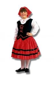 Disfraz de Pastora niña (Producto 100% nacional)