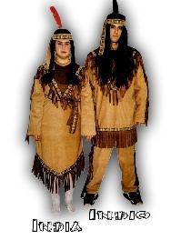 imagen Disfraz de Indio