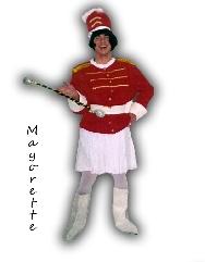 Disfraz de Mayorette