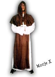 Disfraz de Monje X