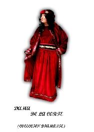 Disfraz de Dama de la Corte (colección diamante)