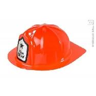 Sombrero bombero plástico