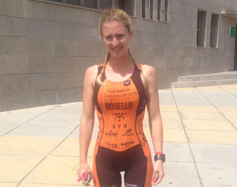Cristina Roselló acaba el 'Half Ironman' de Sevilla en segunda posición