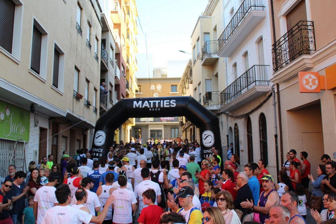 Empieza la recta final del  Circuit a Peu Marina Alta