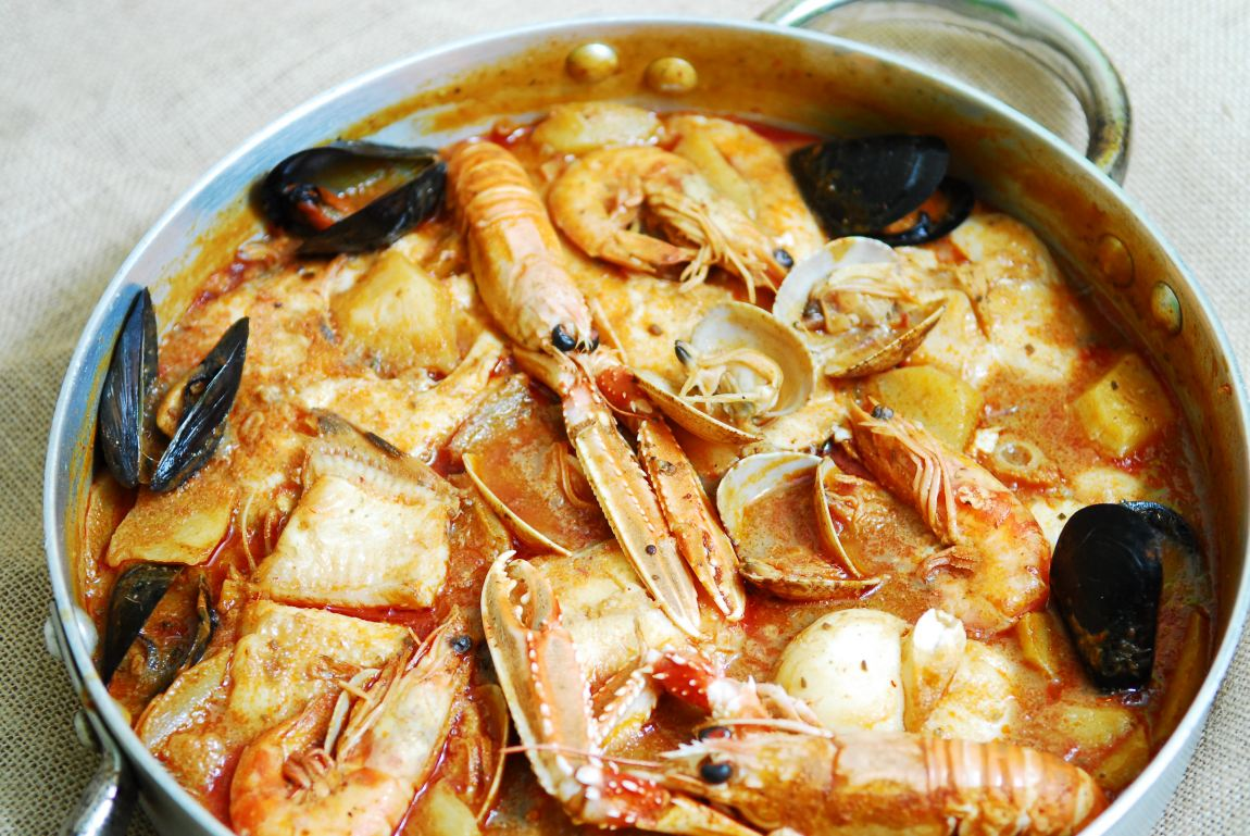 El suquet de peix o suquet de pescado
