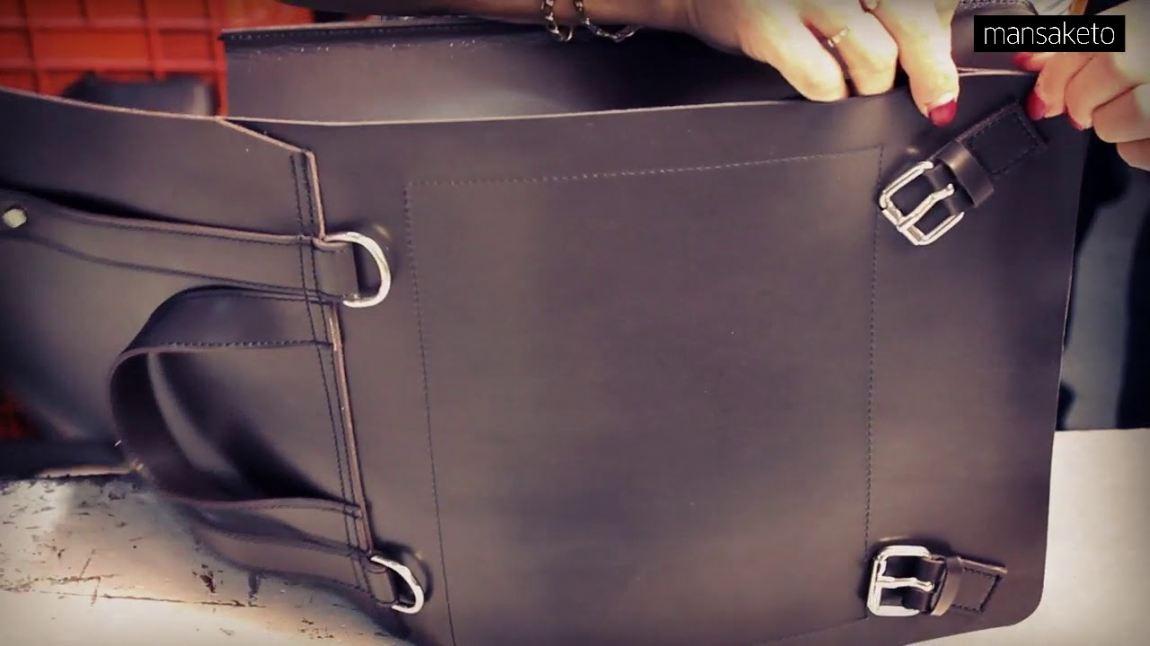 ¿Cómo limpiar tu mochila de piel sambori?
