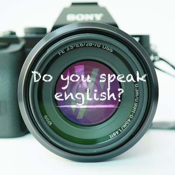 Foto Do you speak english?