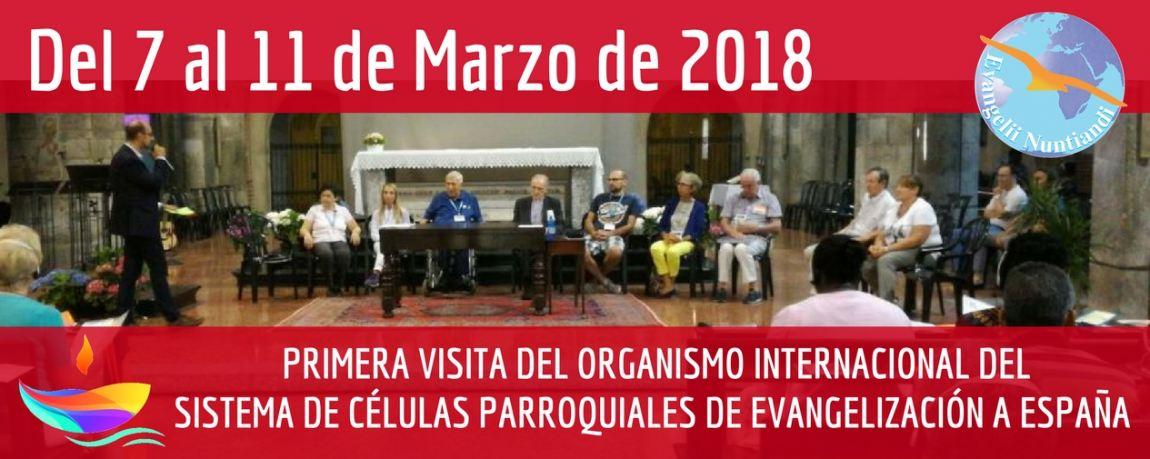Visita del Organismo Internacional a España