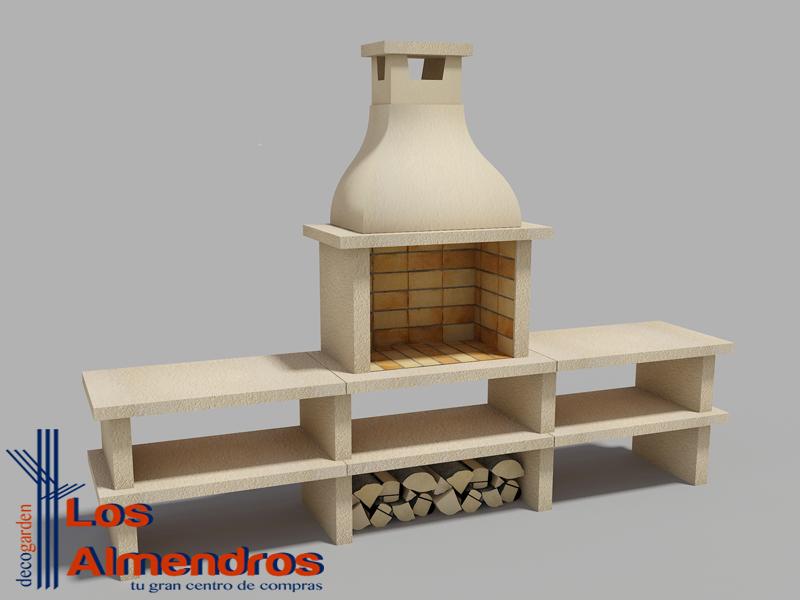 Barbacoas y hornos de piedra artificial