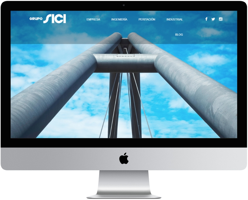 Nueva web Grupo Sici