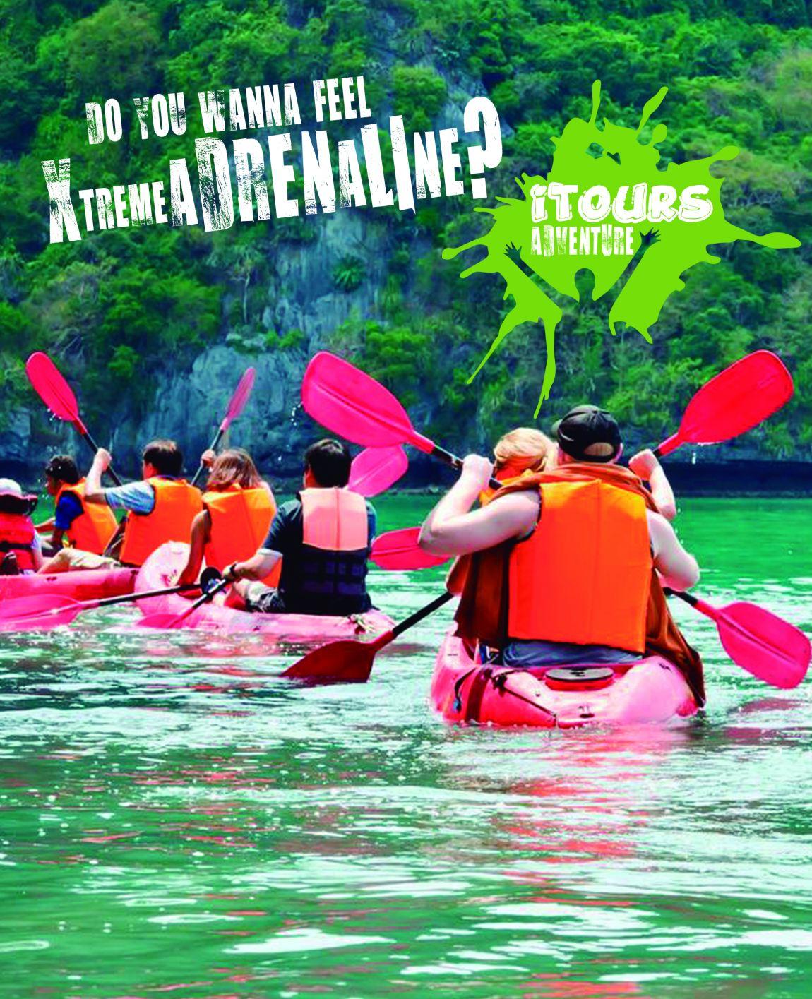 Itours, ¡la aventura sobre el kayak!