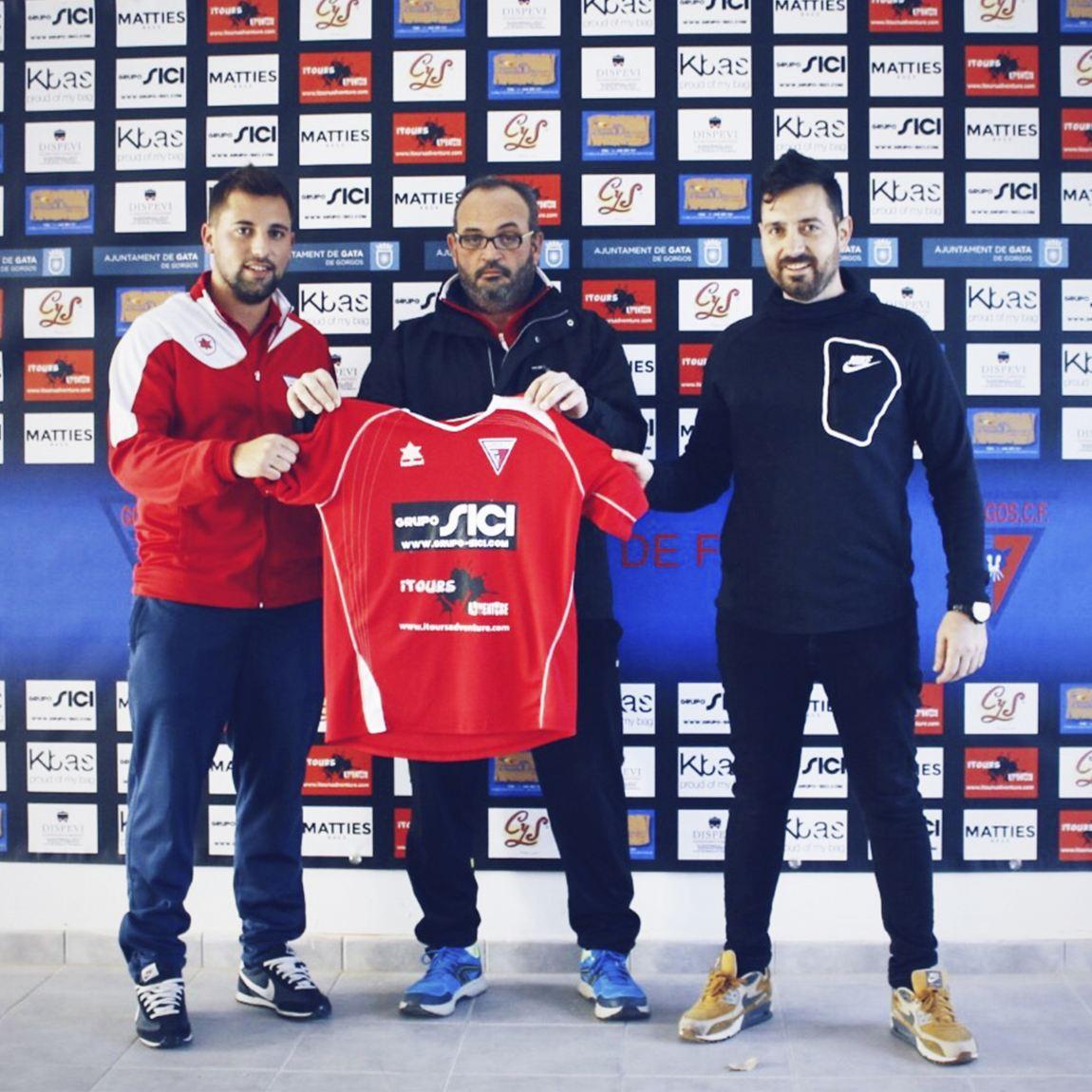 Grupo Sici junto a Itours Adventure los nuevos patrocinadores del Gorgos C.F. para la temporada 2018-2019.