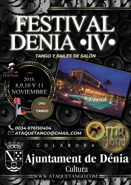 Foto  IV  Dénia Tango/Salón Festival