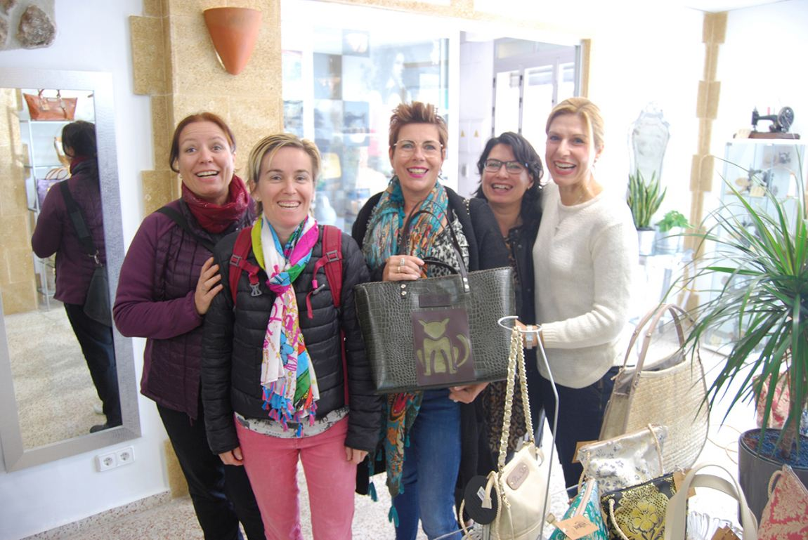"""Academia de Español """"La Maravilla"""" de Holanda  visitó el museo SolerBags,"""