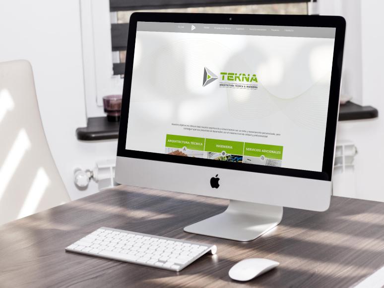 Foto Página web de Tekna