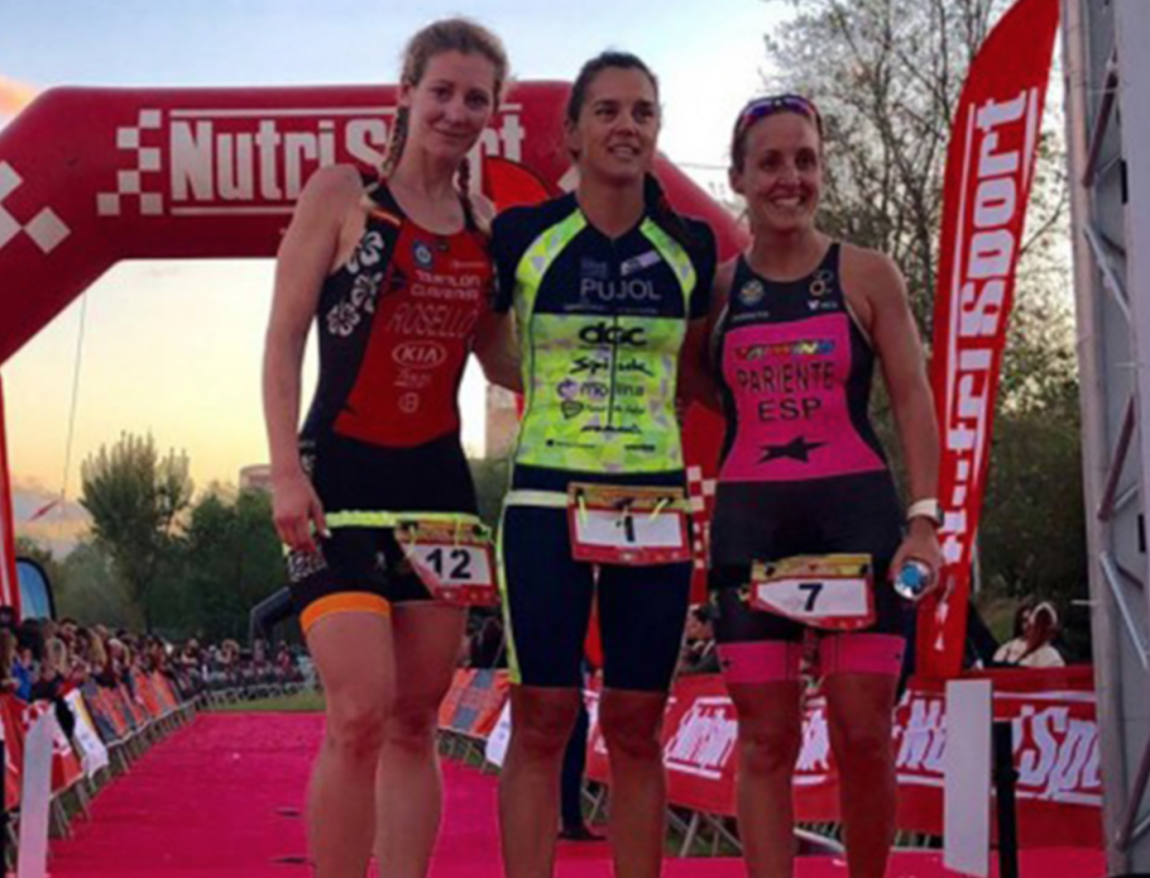 Cristina Roselló second in the Spanish Cup of Middle Distance Triathlon