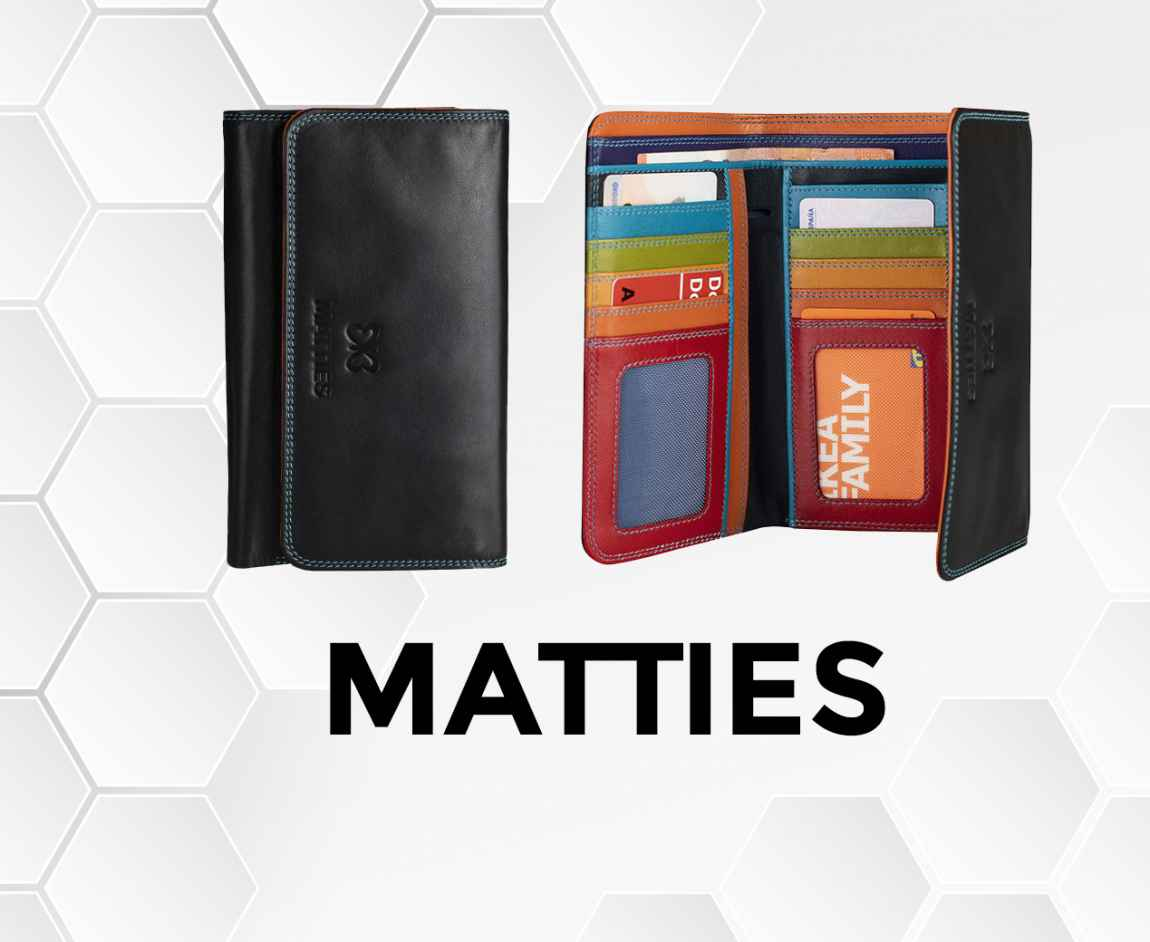 New range of wallets
